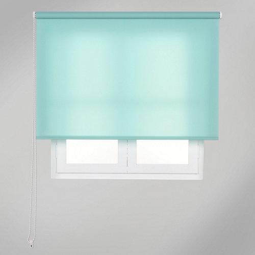 Estor enrollable translúcido trends verde de 120x250cm