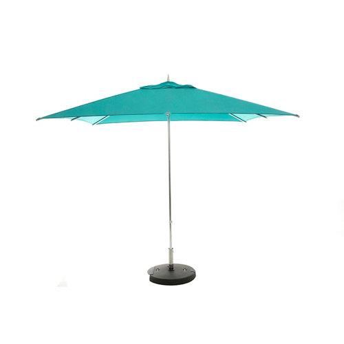 Comprar Parasol cuadrada de aluminio mumbai azul 250x250 cm