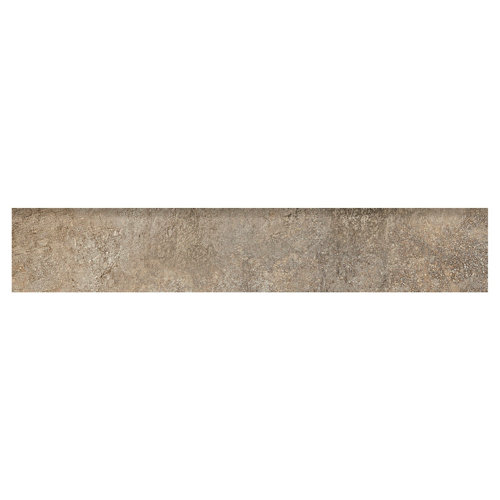 Rodapié serie boldstone 8x45 cm ocre