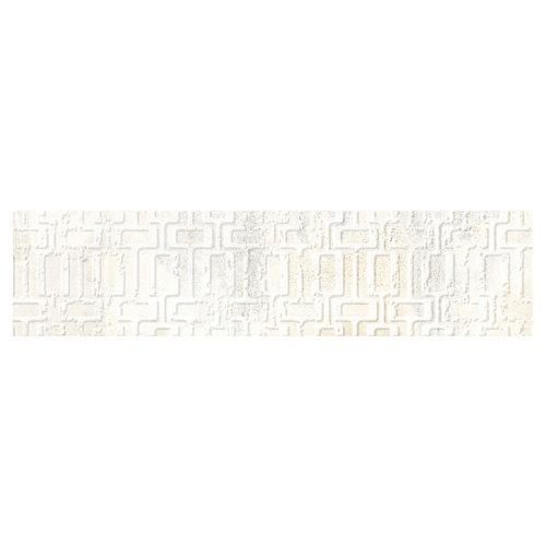 Azulejo cerámico 8x33,15 decorado almond