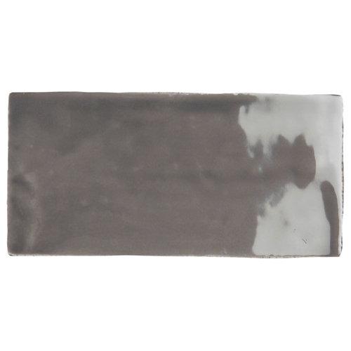 Azulejo cerámico bronx 7,5x30 gris
