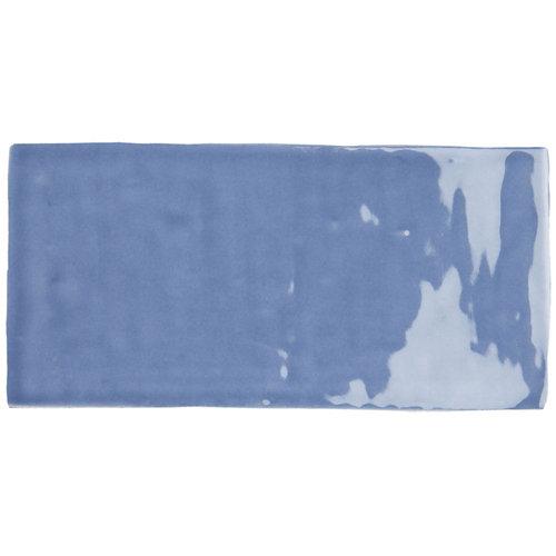 Azulejo cerámico bronx 7,5x30 azul