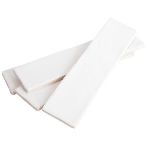Azulejo cerámico bronx 7,5x30 blanco