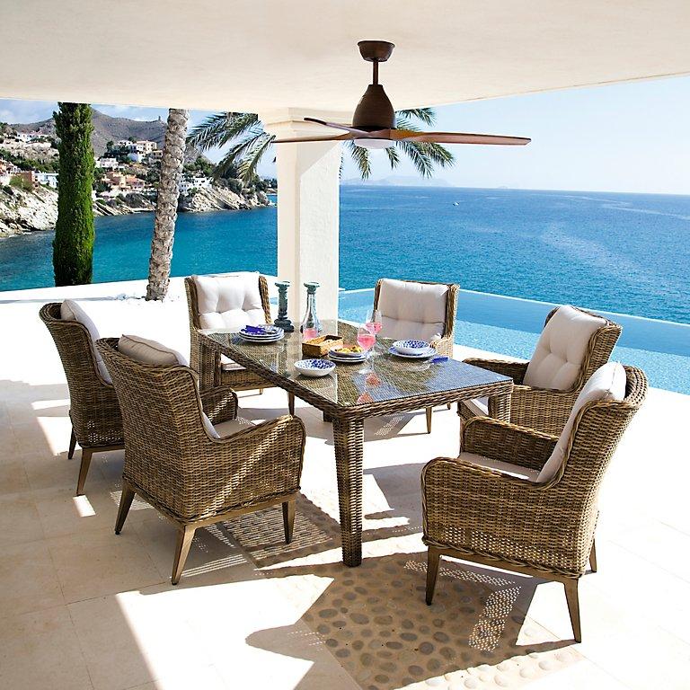 Conjuntos de mesas y sillas de exterior · LEROY MERLIN