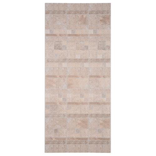Revestimiento de pared de pvc serie element 3d grosfillex