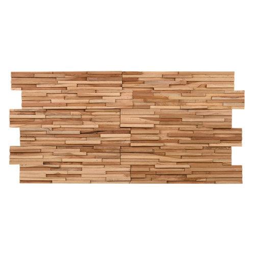 Revestimiento de madera serie ultrawood teak toscani