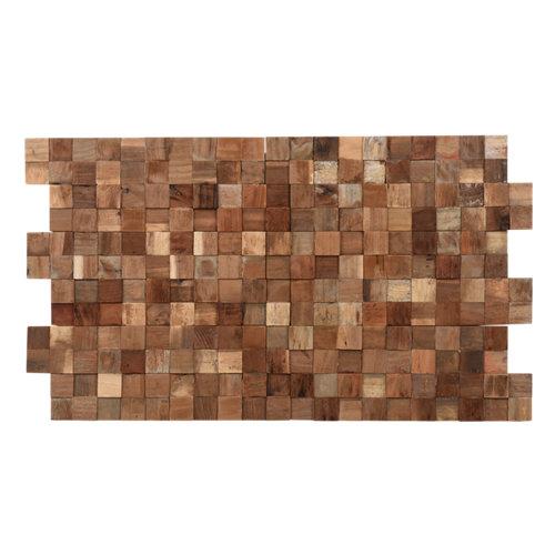 Friso adhesivo ultrawood teak square