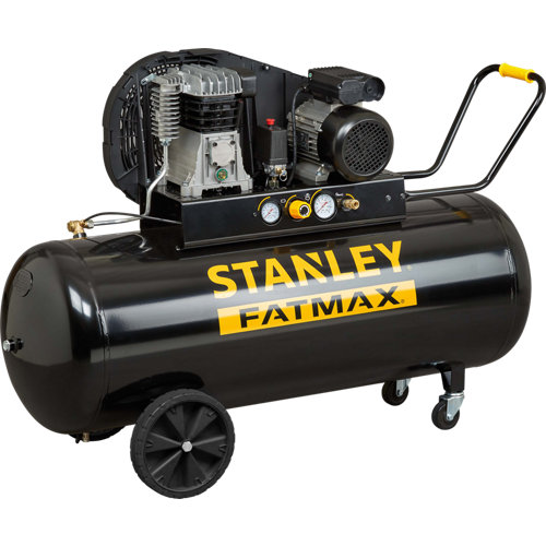 Compresor aceite stanley fatmax b350/10/200 stanley fatmax de 3 cv y 200l de dep