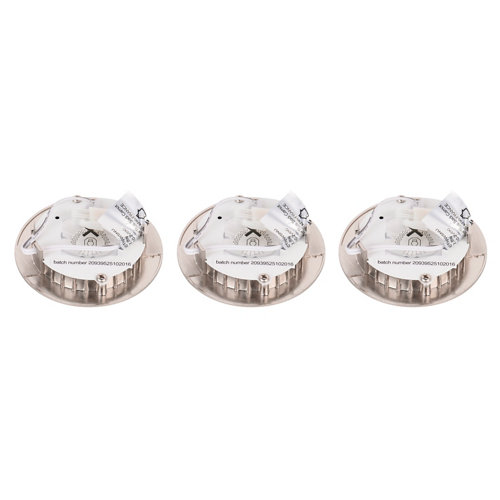 Foco led inspire gris / plata de 3w