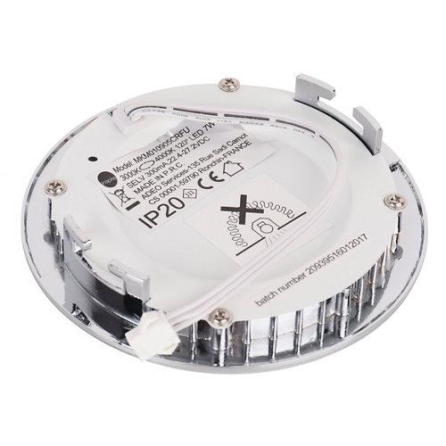 Foco led inspire gris / plata de 9w