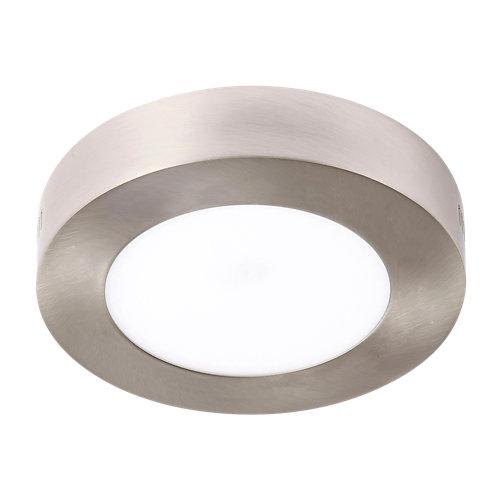 Foco led gris / plata de 12w