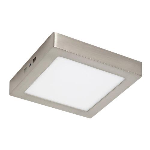 Foco led gris / plata de 18w