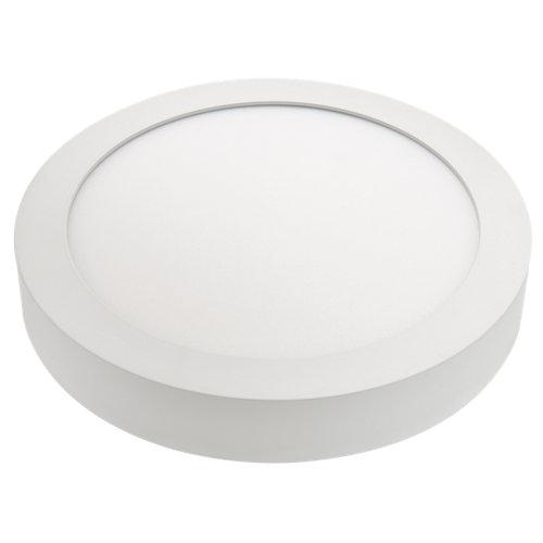 Foco downlight led superficie redondo blanco 18w ip44
