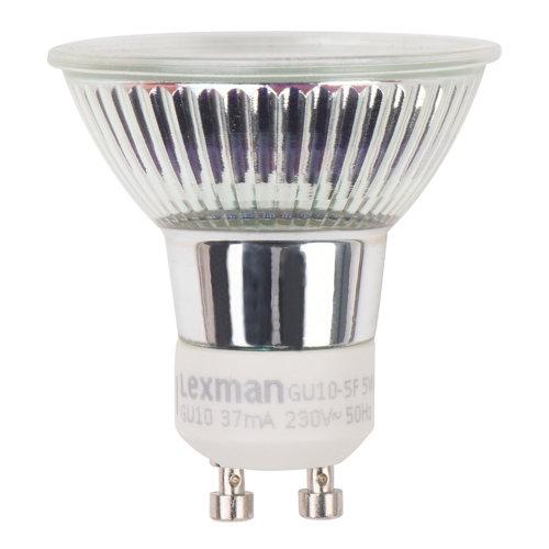 Bombilla led lexman reflectora con casquillo gu10 de k