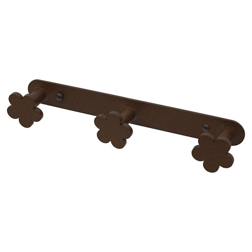 Percha de baño provenza marrón mate