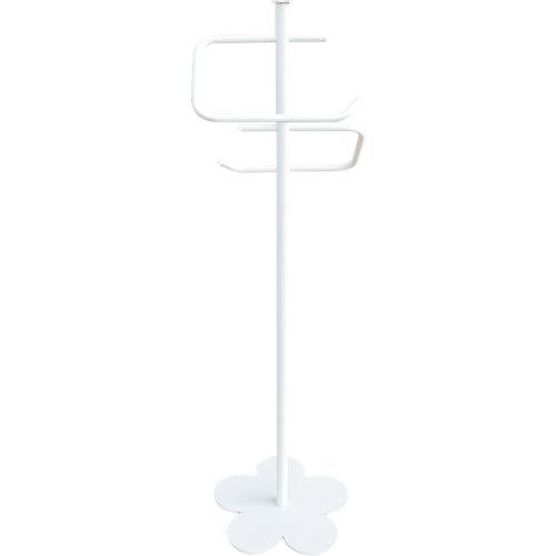 Toallero de pie provenza blanco lacado 30x96 cm