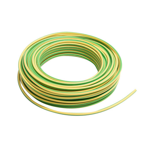 Cable lexman h07v-k 100 metros 2,5 mm² color amarillo/verde