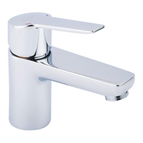 Grifo de lavabo clever 65 open cromo