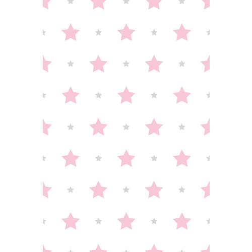 Papel pintado treboli rosa 5,3 m²