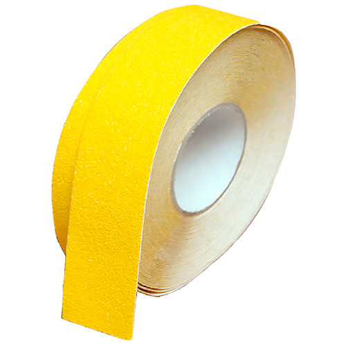 Cinta señalización antideslizante amarilla 5 m