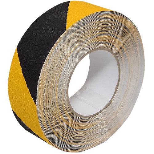 Cinta señalización antideslizante amarilla y negra 5 m