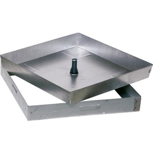 Registro acero inox de 53x5x53 cm