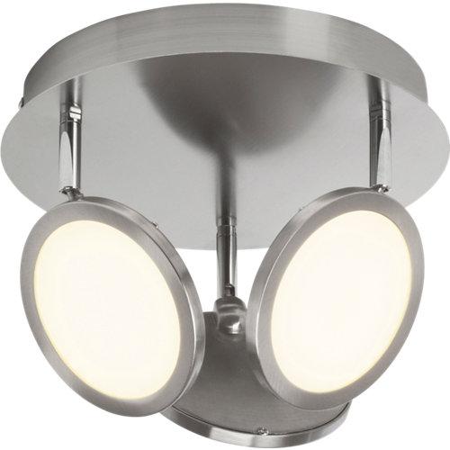 Plafón led 3 luces serie pluto