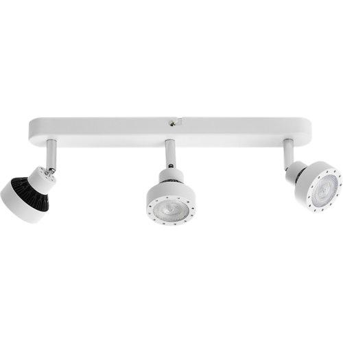 Barra de 3 luces serie drome blanco