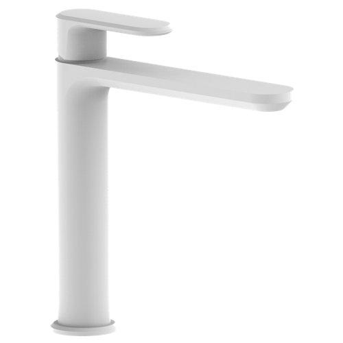 Grifo de lavabo huber levity blanco