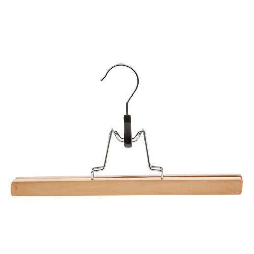 Percha para pantalón spaceo de madera 30 cm