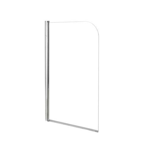 Mampara bañera nerea transparente cromado 1 hoja 130cm