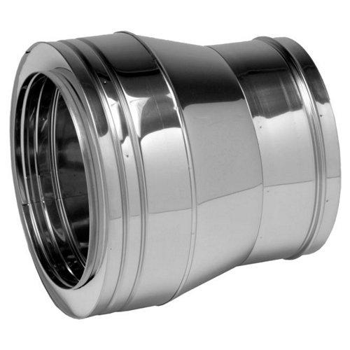 Manguito de acero inoxidable de 250 de diámetro