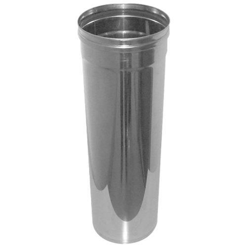 Tubo de acero inoxidable sw 304 250 mm de ø 0,32 cm