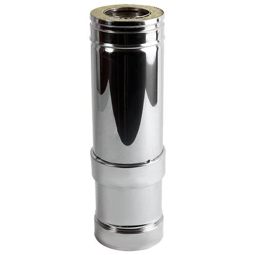 Tubo extensible de acero inoxidable 100 mm de ø 0,53 cm