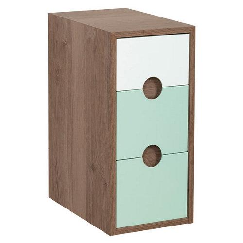 Estructura mueble alto / bajo kompas verde 30x64.6x45cm