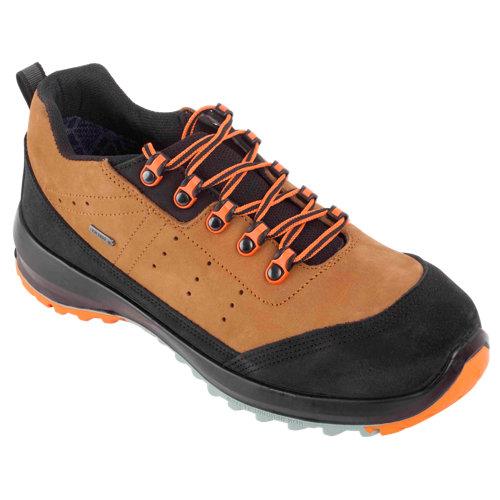 Zapatos de seguridad robusta 92204 s3 marrón t43
