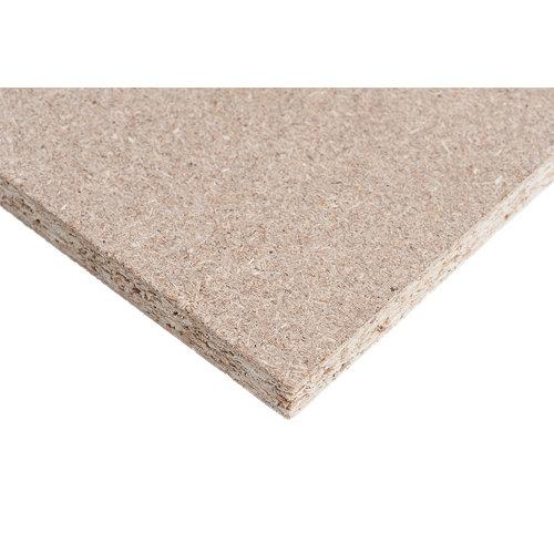 Tablero de aglomerado crudo de 122x244x1,6 cm (anchoxaltoxgrosor)