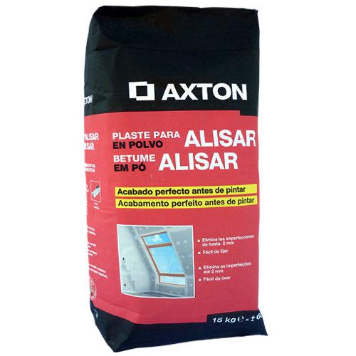 Plaste en polvo para alisar axton 15 kg