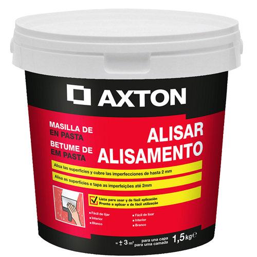 Masilla en pasta para alisar axton de 1,5 kg