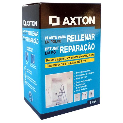 Plaste en polvo para rellenar axton 1 kg