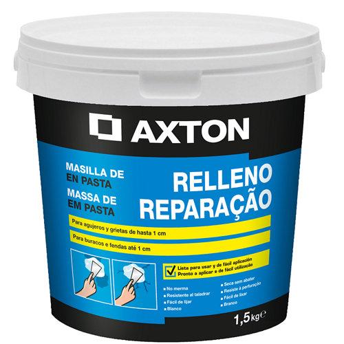 Plaste en pasta para rellenar axton 1,5 kg