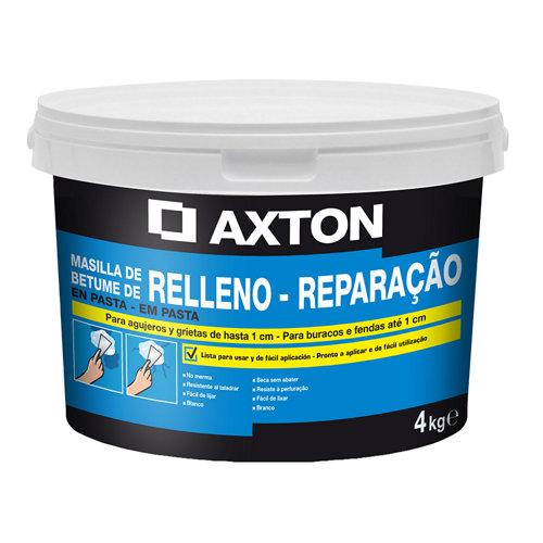 Plaste en pasta para rellenar axton 4 kg