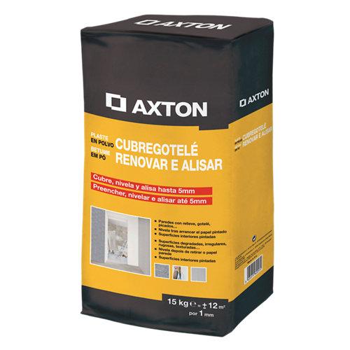 Plaste en polvo cubregotelé axton 15 kg