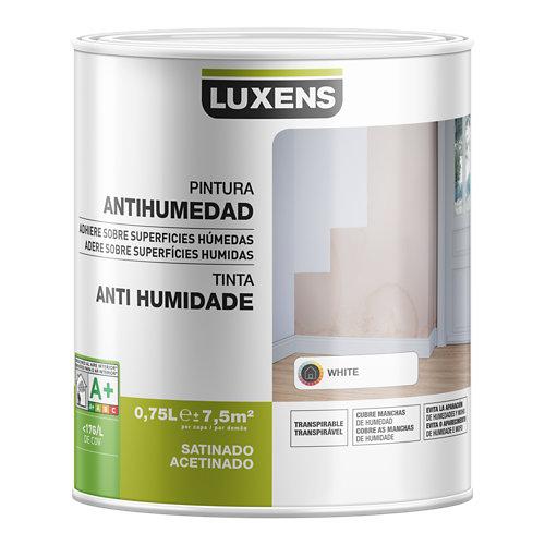 Pintura antihumedad luxens blanco 0,75l