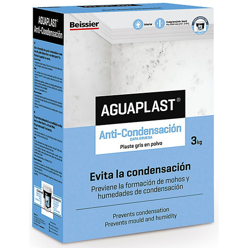 Plaste en polvo aguaplast anticondensación 3kg