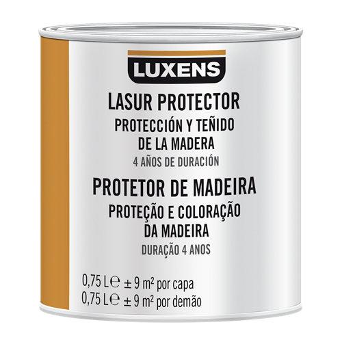 Protector madera exterior luxens satinado 750 ml teca