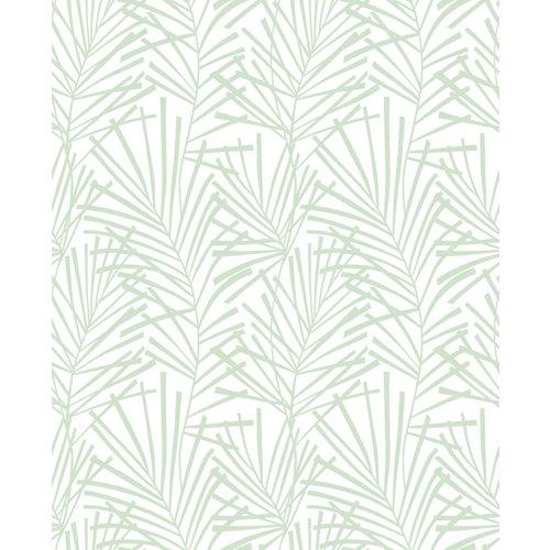 Papel pintado naturaleza aura palme verde verde para 5,3 m²