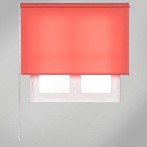 Estor enrollable translúcido trends rosa de 135x250cm