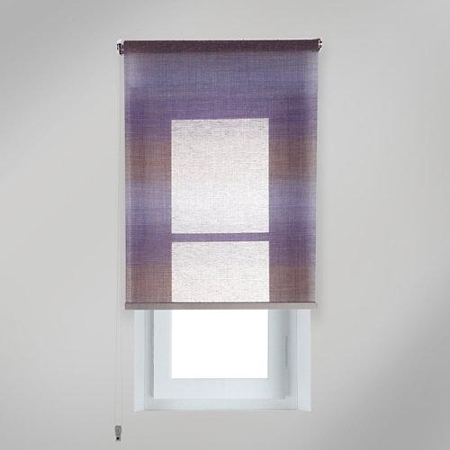 Estor enrollable translúcido tokyo azul de 254x250cm