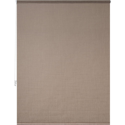 Estor enrollable panda natural beige de 139x250cm